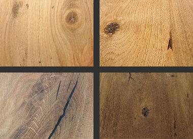 Massivholzplatten Eiche (maßgefertigt) bei Eichenholzprofi.de